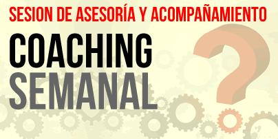 Sesion de Coaching y acompañamiento